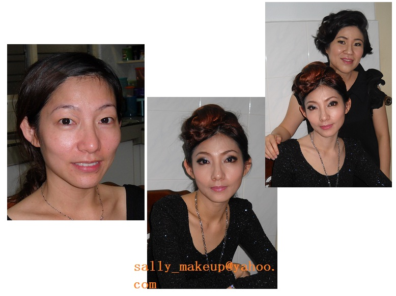 Personal dinner makeup +hairdo(special event)